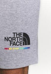 The North Face - RAINBOW SHORT - Pantalón corto de deporte - light grey heather - 5