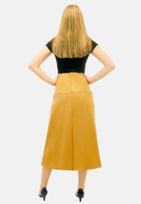 Aline Celi - CARINE - A-line skirt - caramel - 2