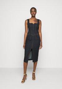 Versace Jeans Couture - LADY DRESS - Denim dress - indigo - 0