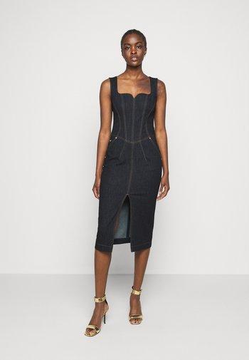 LADY DRESS - Denimové šaty - indigo
