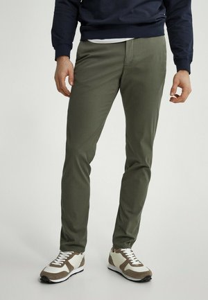 SLIM FIT - Chino - khaki