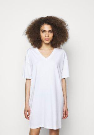 KABELLE - Jersey dress - weiss