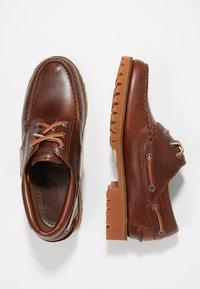 Sebago - ACADIA - Boat shoes - brown cinnamon - 1