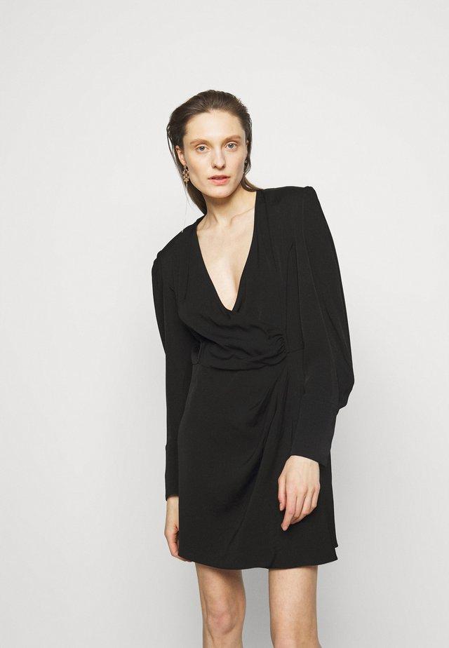 DHOTIE DRESS - Korte jurk - black