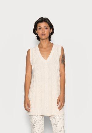 ROBIN DRESS - Neulemekko - white dusty light