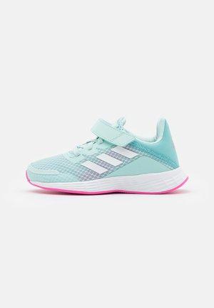 DURAMO UNISEX - Zapatillas de running neutras - halo mint/footwear white/screaming pink