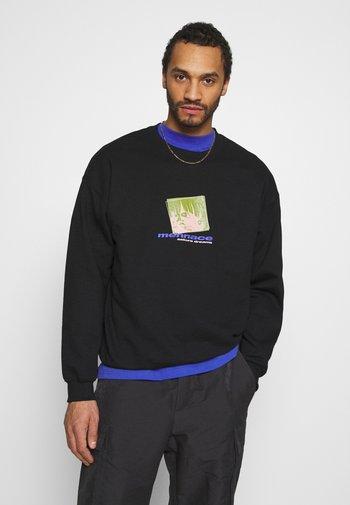 MENNACE SAKURA DREAMS - Sweatshirt - black