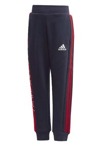 adidas Performance - KNIT JOGGERS - Tracksuit bottoms - blue - 2