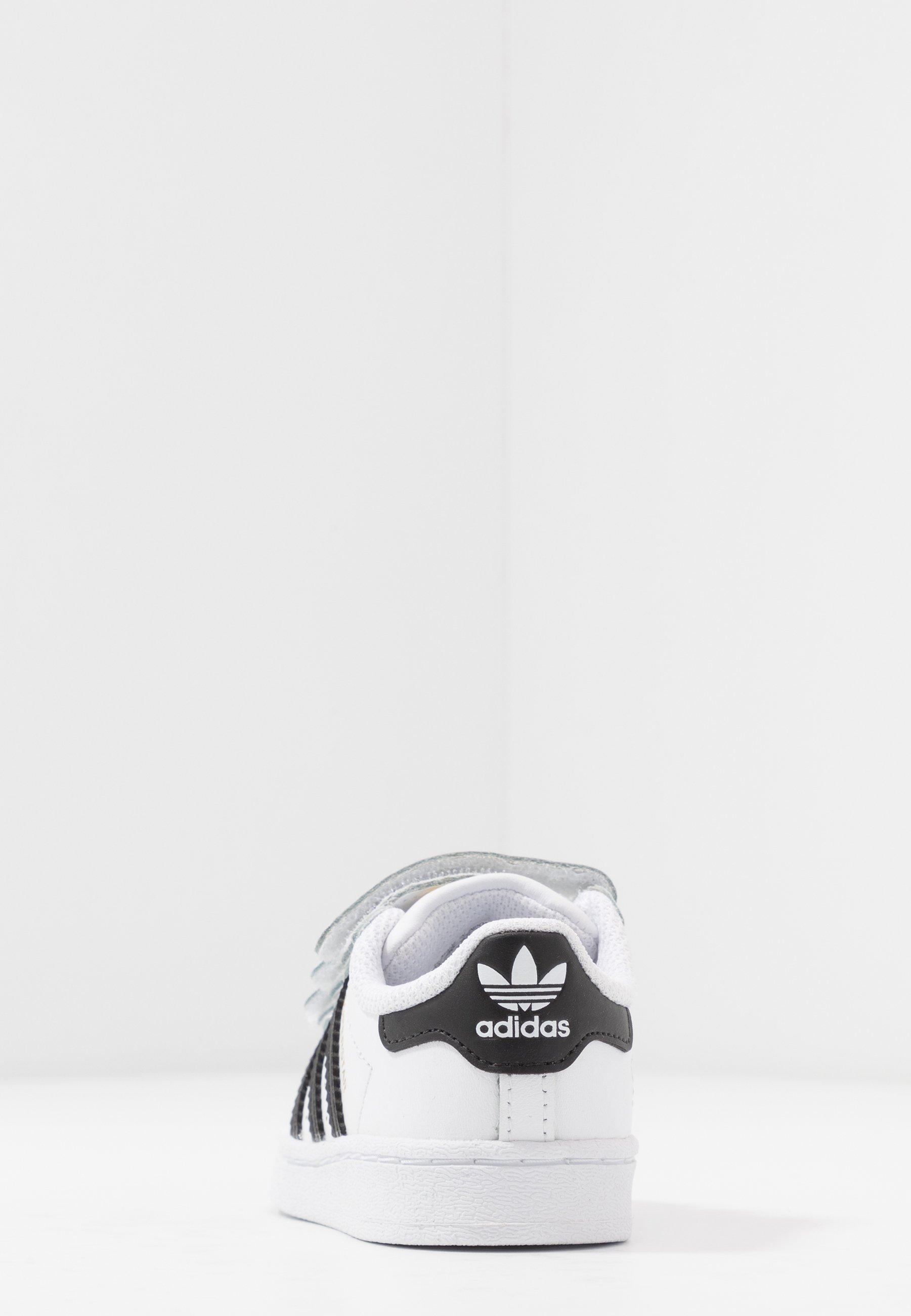 Commercialisable Meilleurs prix adidas Originals SUPERSTAR Baskets basses footwear white/core black 8dUf0