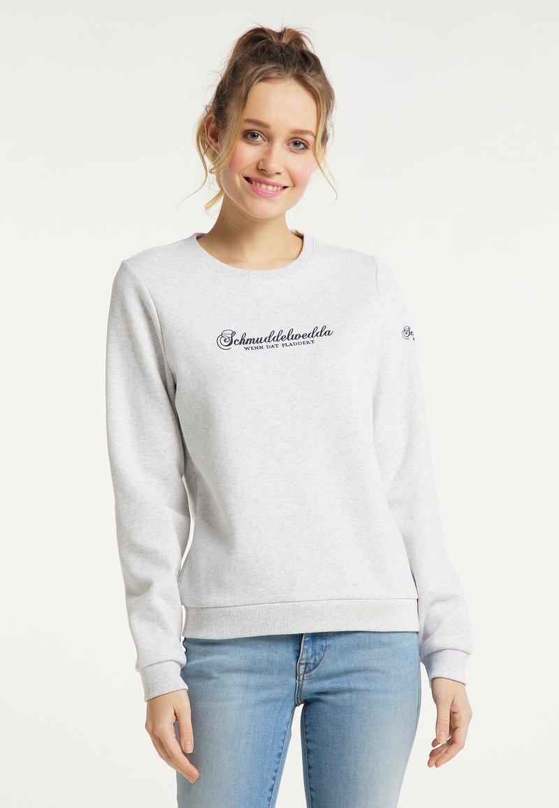 Schmuddelwedda - Sweatshirt - wollweiss melange
