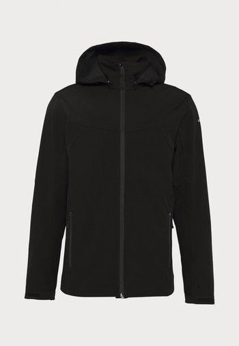 BIGGS - Soft shell jacket - black