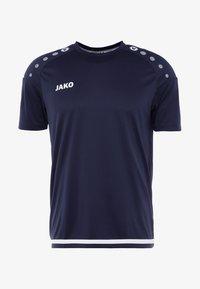 TRIKOT STRIKER 2.0 - Print T-shirt - marine/weiß