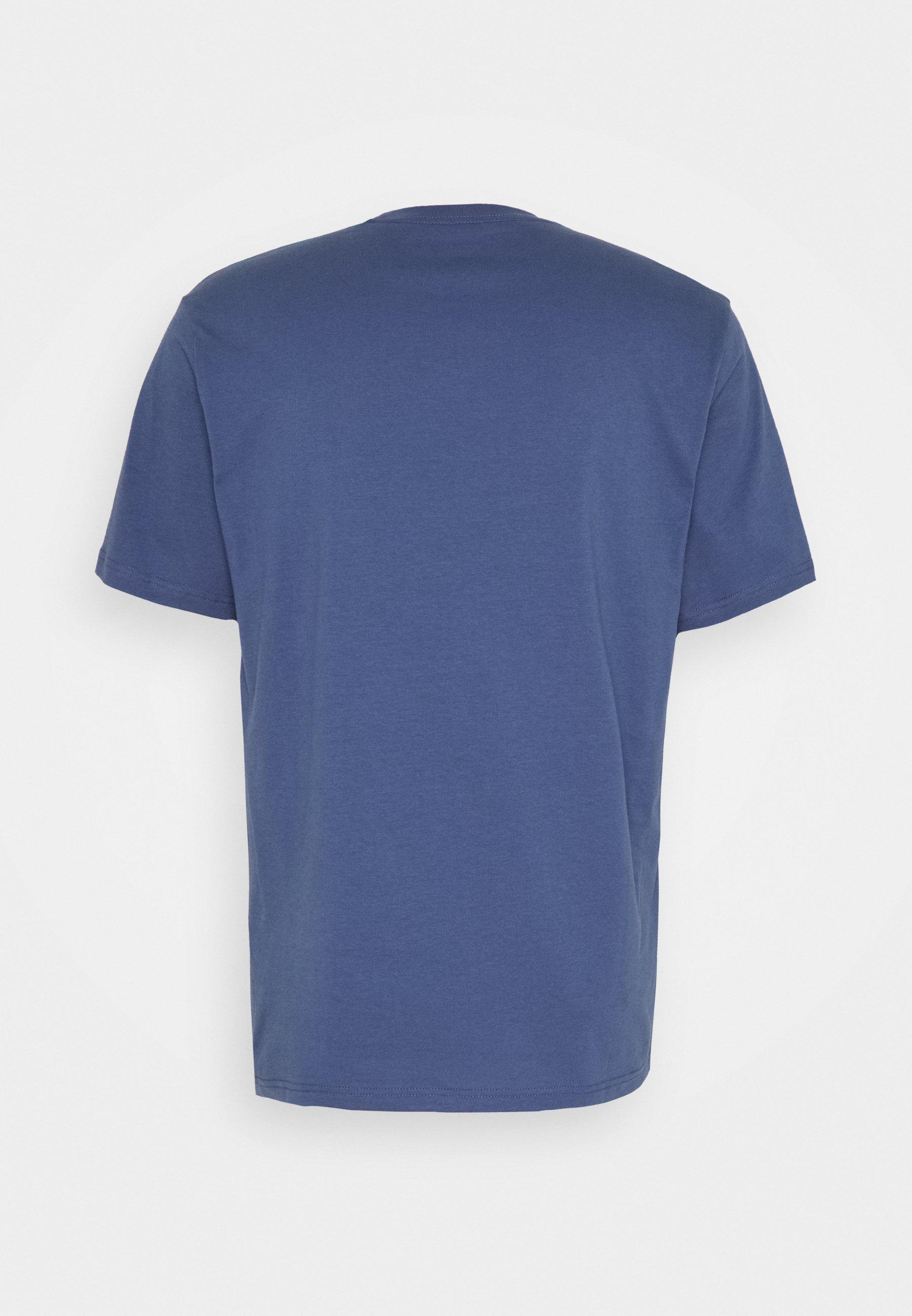 Levi's® Tee - T-shirts Med Print Blue Indigo/mørkeblå