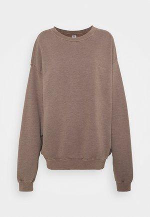 CREWNEWCK  - Sweatshirt - choc