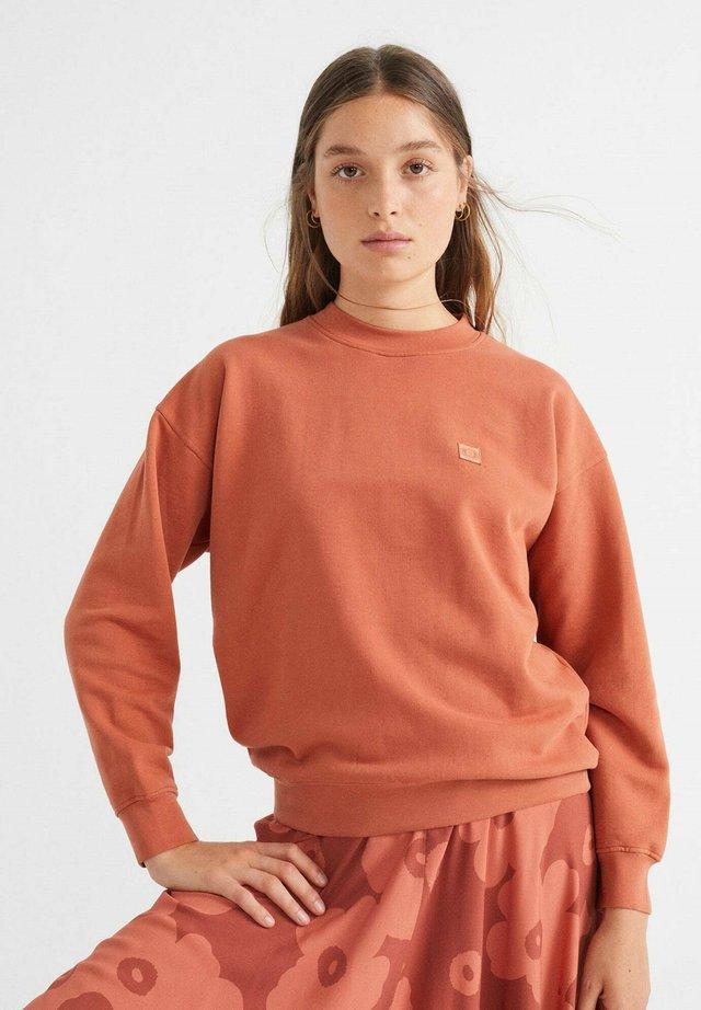 SOL - Sweatshirt - brick