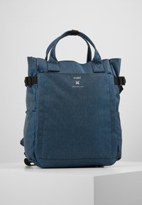 anello - OPEN TOTE BACKPACK - Reppu - navy - 0