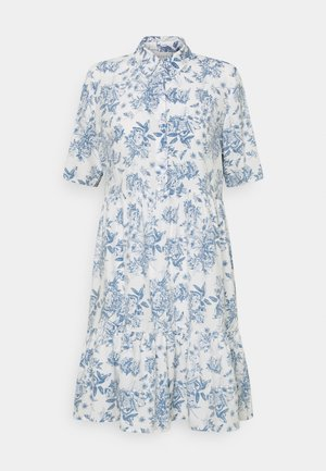 VIMORAS SHIRT DRESS - Skjortekjole - cloud dancer/porcelain