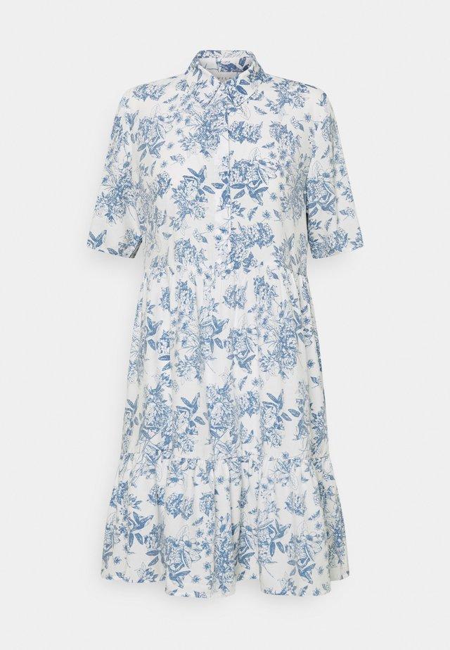 VIMORAS SHIRT DRESS - Shirt dress - cloud dancer/porcelain