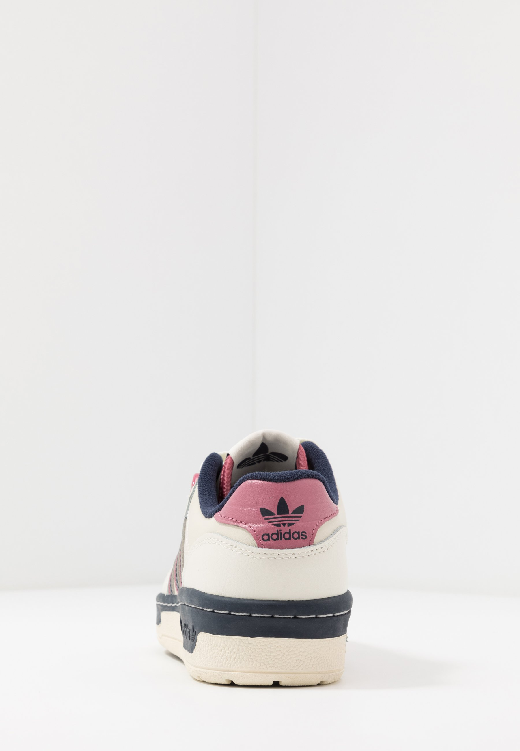 adidas Originals TOP TEN - Høye joggesko - footwear white/collegiate burgundy/chalk white