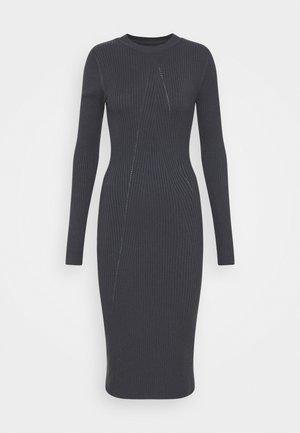 Strickkleid - Shift dress - dark grey