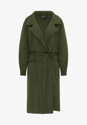 Zimní kabát - smaragd