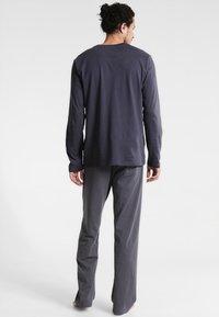 Schiesser - ANZUG LANG SET - Pyjama set - anthrazit - 2