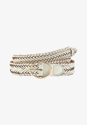 Braided belt - weiß