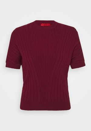 DAFNE - Jumper - burgundy