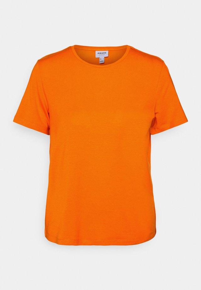 VMAVA - Basic T-shirt - mandarin orange