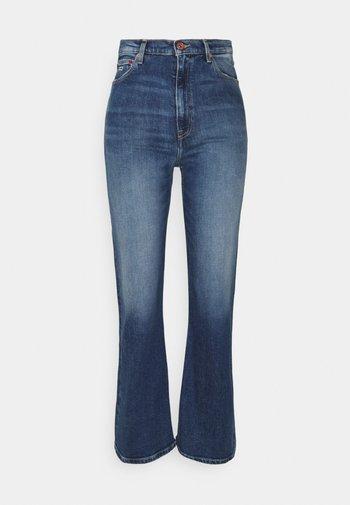 HARPER FLARE ANKLE - Jeans a zampa - denim medium