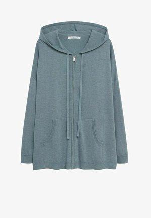 OLIVIA - Zip-up hoodie - waldgrün