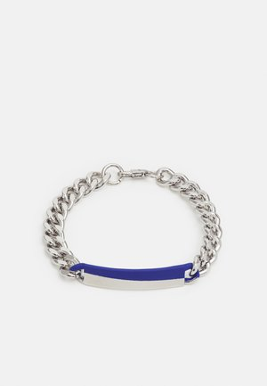 DIPPED ID BRACELET - Bracelet - silver-coloured