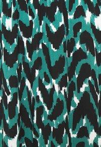 ONLY - ONLGAGA MIDI DRESS - Day dress - cloud dancer/green/black - 6