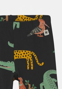 Lindex - LEO AND ANIMALS 2 PACK - Leggings - Trousers - off black - 3