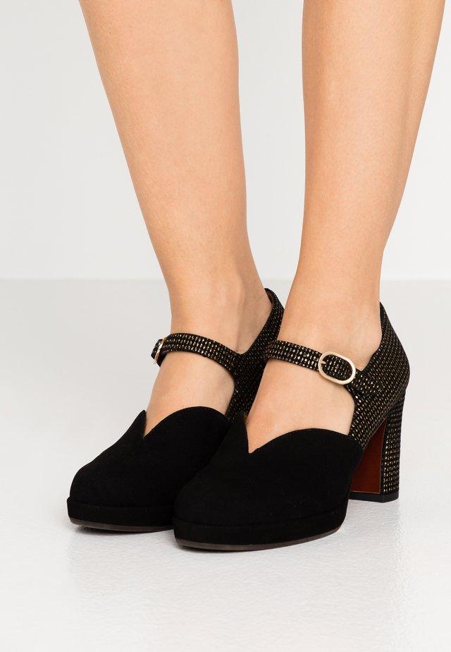 JUMBO - Platform heels - black