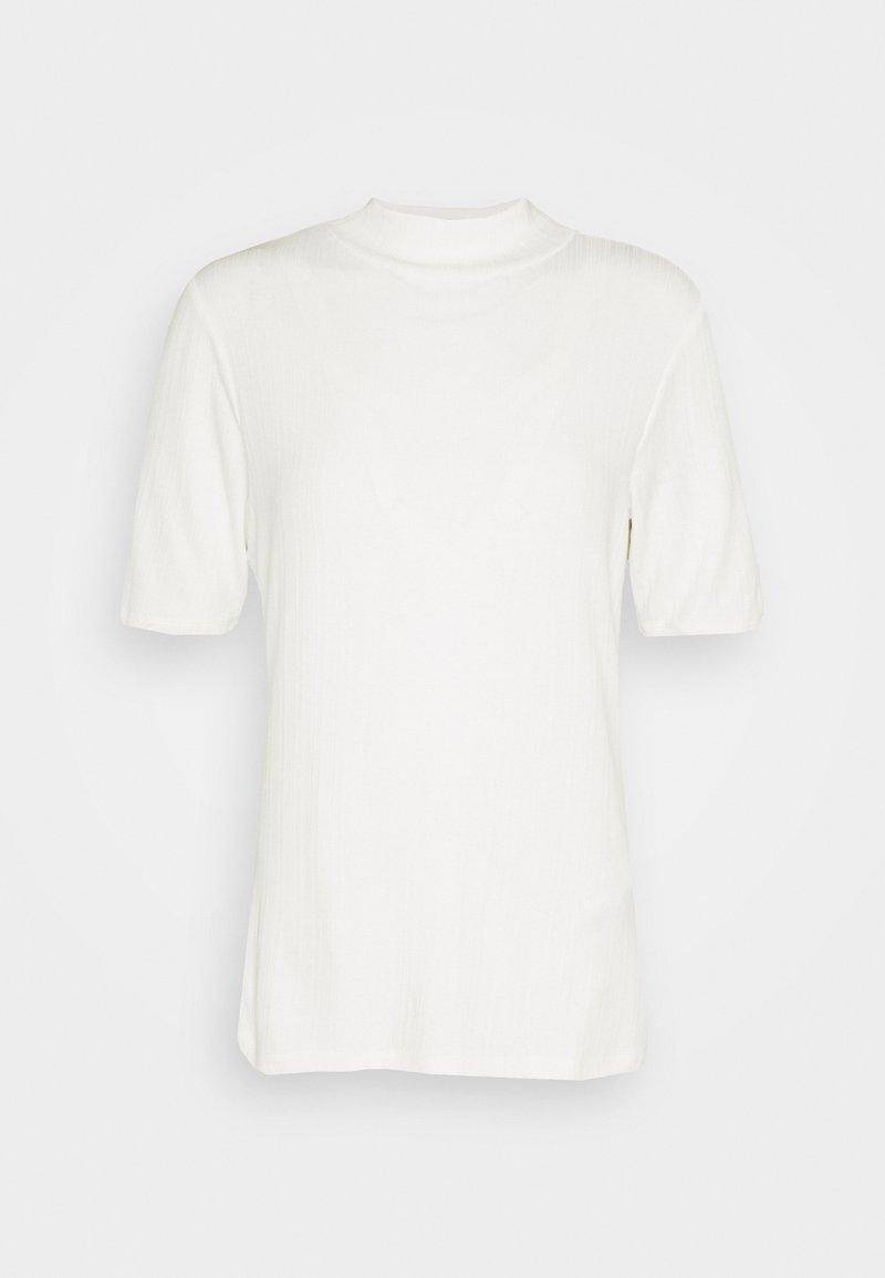 s.Oliver - KURZARM - Basic T-shirt - off-white