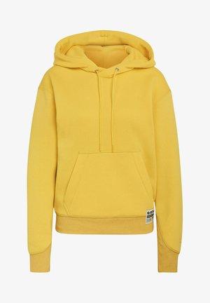 PREMIUM CORE HOODED - Hoodie - bright yellow cab