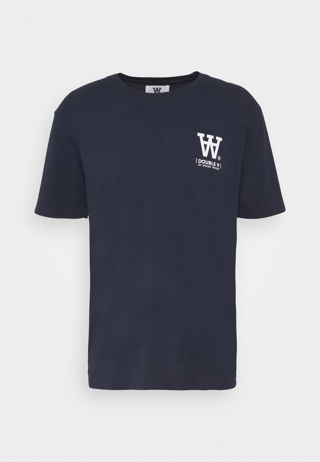 ACE - T-shirt con stampa - navy