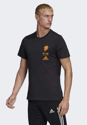 HOL CI TEE - Print T-shirt - black