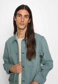 Edwin - FEDERAL JACKET UNISEX - Jakna iz džinsa - turquoise - 5
