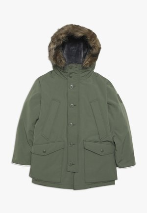 BOY WARMEST PARKA - Down coat - desert cactus