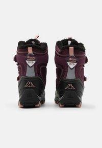 Kappa - BONTE TEX UNISEX - Winter boots - purple/rosé - 2