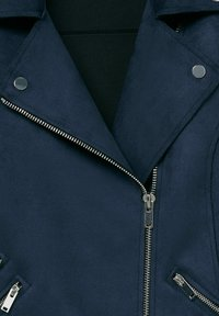 Violeta by Mango - SEUL8 - Faux leather jacket - bleu marine - 5