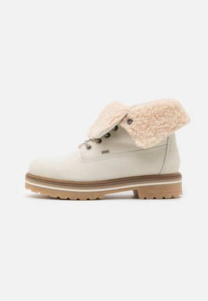 LEATHER  - Ankelboots - offwhite