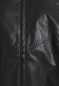 EDITED - KORI JACKET - Faux leather jacket - schwarz - 2