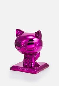 KARL LAGERFELD - IKONIK 3D CHOUPETTE STATUE - Jiné doplňky - metallic fuchsia - 0