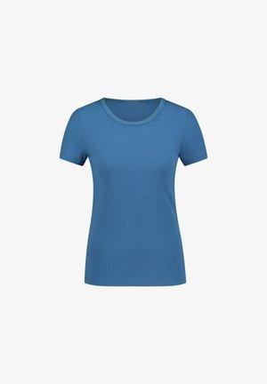 RIB CREW NECK - Maglia del pigiama - blue