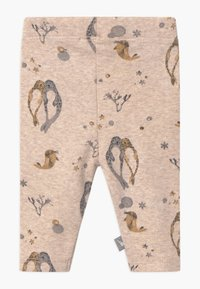 Hust & Claire - LILLE - Leggings - Trousers - ochre - 1
