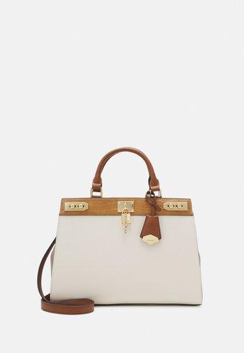 DREIDDA - Handbag - camel bone combo
