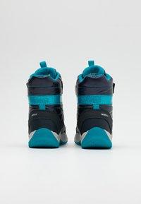 Geox - SENTIERO GIRL - Winter boots - navy/azure - 2